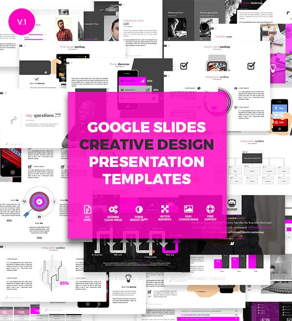Creative Slides - Google Slides Presentation Templates - Google Slides Presentation Templates
