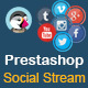 Social Stream for Prestashop With Carousel - CodeCanyon Item for Sale
