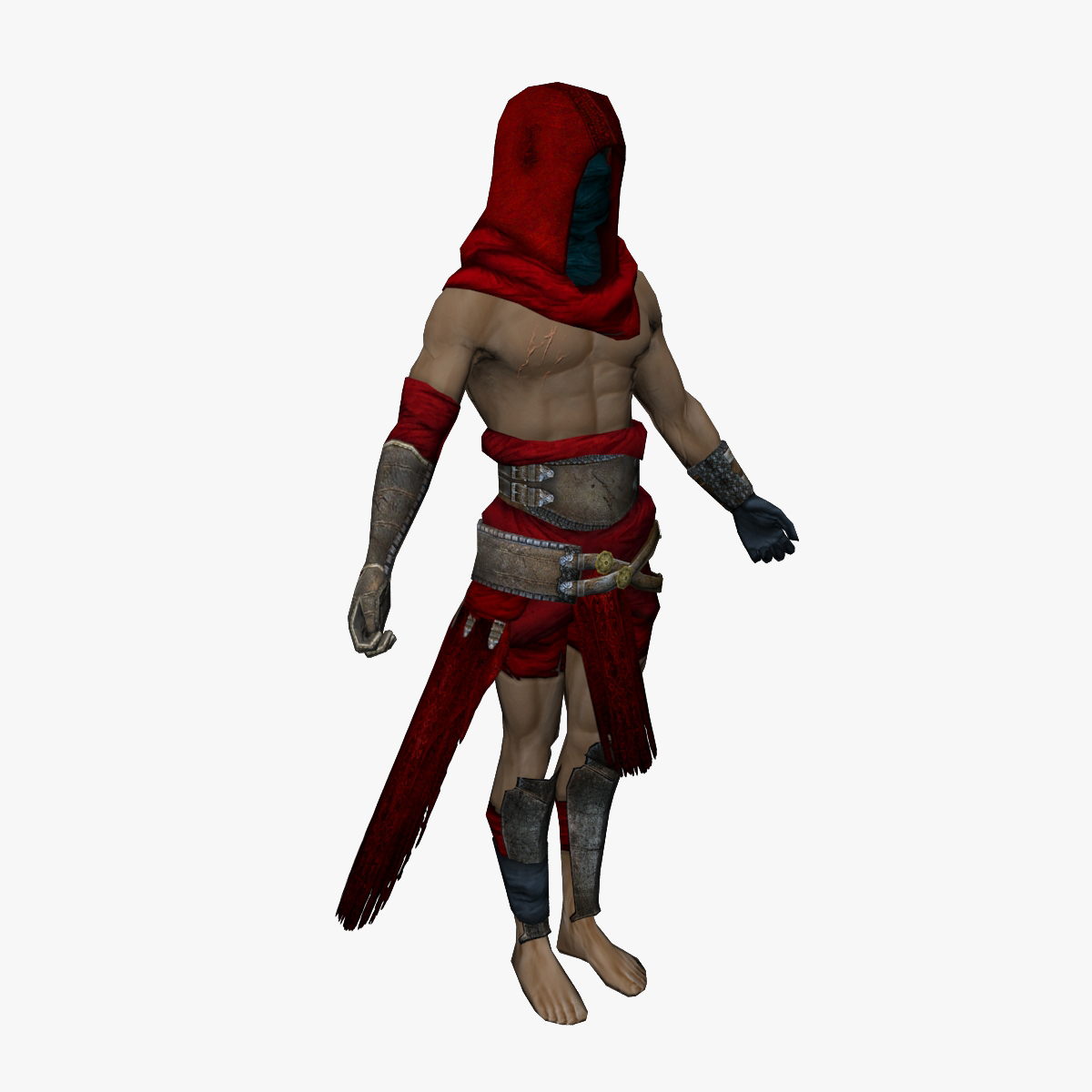 Warrior lo-poly