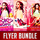 Club Party Flyer Bundle Vol.3 - GraphicRiver Item for Sale