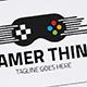 Gamer Think Logo - GraphicRiver Item for Sale
