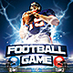 Football Game Flyer - GraphicRiver Item for Sale