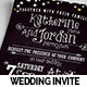 Vintage Wedding Invitation Set - GraphicRiver Item for Sale