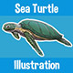 Sea Turtle Illustration - GraphicRiver Item for Sale