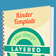 Binder Mockup PSD - GraphicRiver Item for Sale
