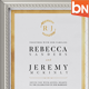 Modern Classic Wedding Invitations - GraphicRiver Item for Sale