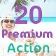 20 Premium Photoshop Actions - GraphicRiver Item for Sale