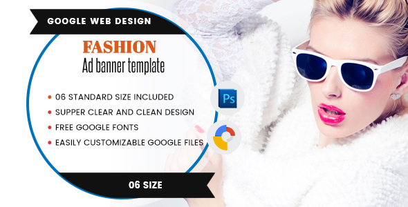 Fashion Banners Html5 - Google Web Designer - CodeCanyon Item for Sale