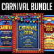 Carnival Flyer Bundle - GraphicRiver Item for Sale