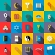 Religion Icons Set, Flat Style - GraphicRiver Item for Sale