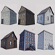 Boston Buildings Pack 01 - 3DOcean Item for Sale