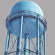 Metal Water Tower - 3DOcean Item for Sale