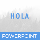 Hola Powerpoint Template - GraphicRiver Item for Sale