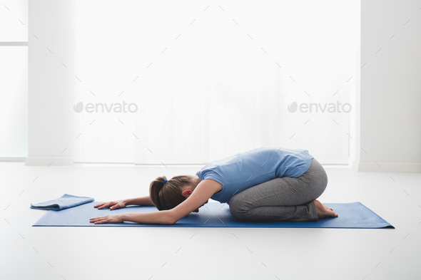 Yoga positions - Stock Photo - Images