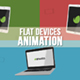 Flat Devices Animation - VideoHive Item for Sale