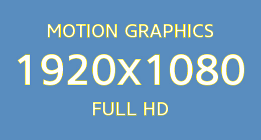 Motion Graphics 1920x1080