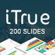 iTrue - Creative Multipurpose Keynote Presentation Template - GraphicRiver Item for Sale