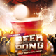 Beer Pong Party Flyer - GraphicRiver Item for Sale