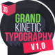 Grand Kinetic Typography - VideoHive Item for Sale