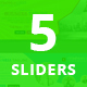 Bundle of 5 Business Sliders - GraphicRiver Item for Sale