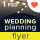 Wedding Planning Ceremony Flyer - GraphicRiver Item for Sale