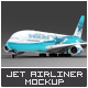 Jet Airliner A380 Mock-Up - GraphicRiver Item for Sale
