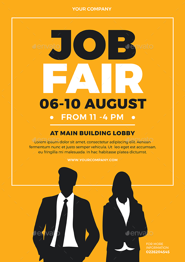 Job Fair Flyer By Vynetta Graphicriver