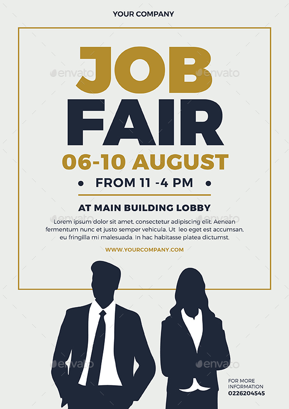 Job Fair Flyers