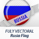 Russia Flag Badges - GraphicRiver Item for Sale