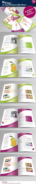 A4 Professional Brochure - Corporate Brochures
