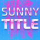 Download Sunny Titles from VideHive