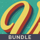 Bundle-Vintage and Retro Styles #2 - GraphicRiver Item for Sale