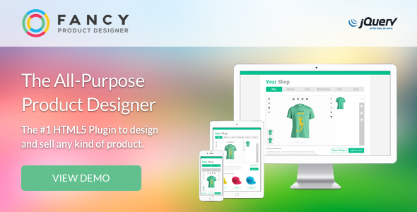 Fancy Product Designer | jQuery - CodeCanyon Item for Sale