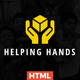 Nonprofit Charity & NGO Fundraising - Helping Hands