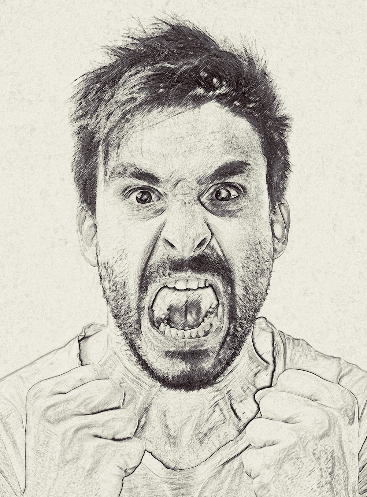 Gorgeous pencil drawing v 1 photoshop action
