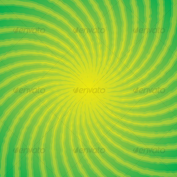 Green Swirl Background - Backgrounds Decorative