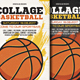Collage Basketball Flyer - GraphicRiver Item for Sale
