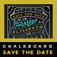 Elegant Chalkboard Save The Date Postcard | Volume 3 - GraphicRiver Item for Sale