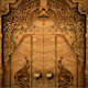 Ancient Carved Wood Door - VideoHive Item for Sale