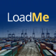 LoadMe - Logistic & Transportation PSD Template