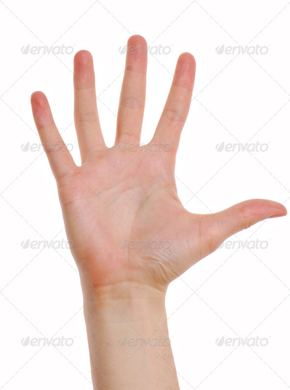 Man hand - Stock Photo - Images