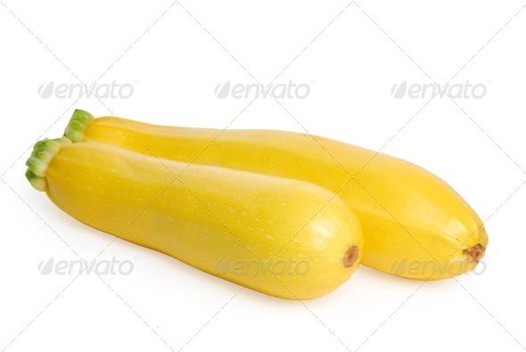 Yellow marrow squash - Stock Photo - Images