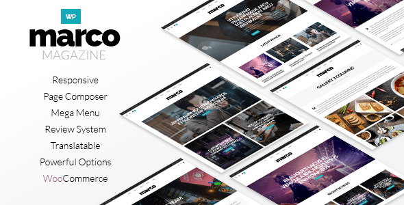 Marco | Photography Magazine WordPress Theme