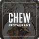 Chew - Restaurant PSD Template - ThemeForest Item for Sale