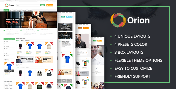 VG Orion - Business & eCommerce WordPress Theme