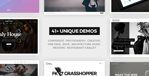 FatMoon | Creative & Photography Multi-Purpose Theme