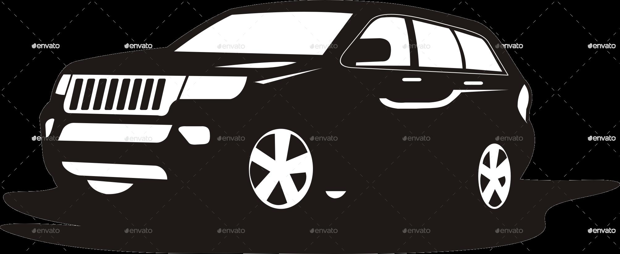 suv car logo template by yokoz graphicriver. Black Bedroom Furniture Sets. Home Design Ideas