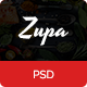 ZupaRestaurant – Bistro and Restaurant PSD Template - ThemeForest Item for Sale
