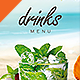 Drinks Menu Template - GraphicRiver Item for Sale