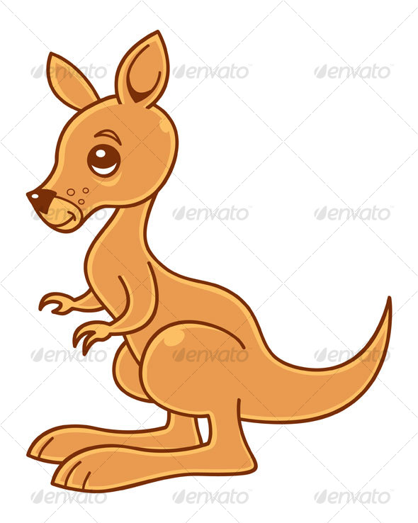 Baby Kangaroo - Animals Characters